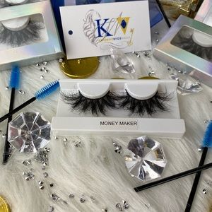 25 mm Mink Eye Lashes 100% Real